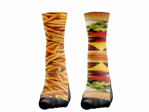"Socks ""Cheeseburger/Fries"""