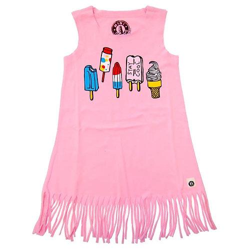 Stay Cool Fringe Dress