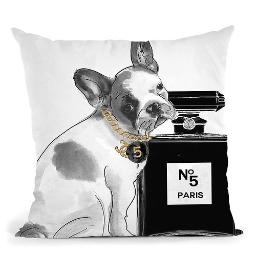 Frenchie No5 Pillow