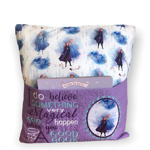 Frozen Book Pillow