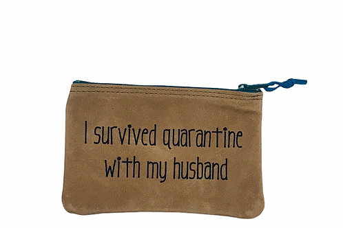 I survived quarantine with my husband