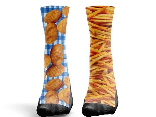 """Socks """"Chicken Tenders and Fries"""""""