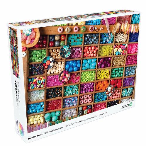 Beautiful Beads - 1000 Piece Jigsaw Puzzle