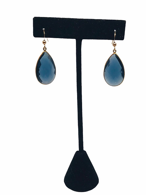 Blue Tanzanite Earrings