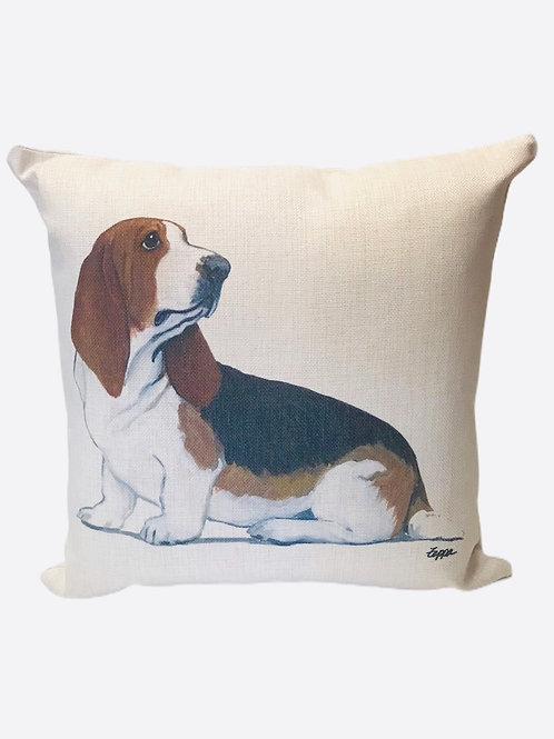 "Pillow ""Basset Hound"""