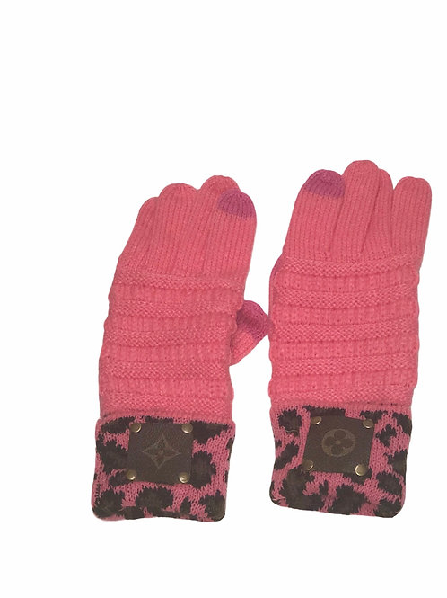 Pink Gloves LV Repurposed Patch