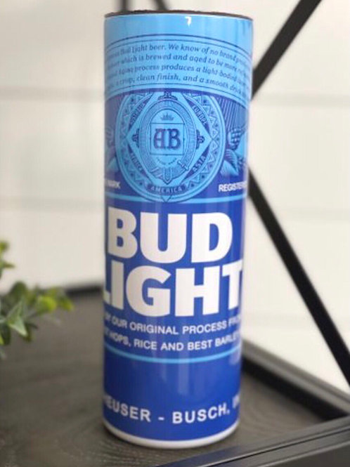 Bud Light Tumbler W/ Straw
