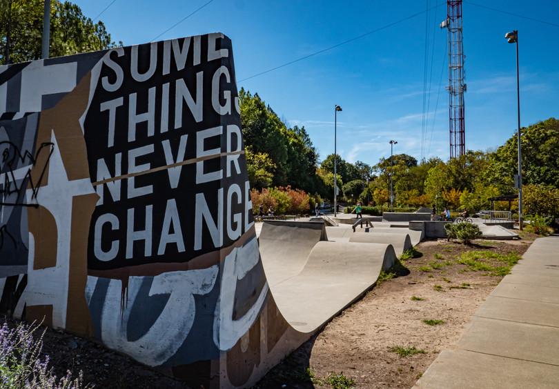 Historic Fourth Ward Skate Park, Atlanta, GA