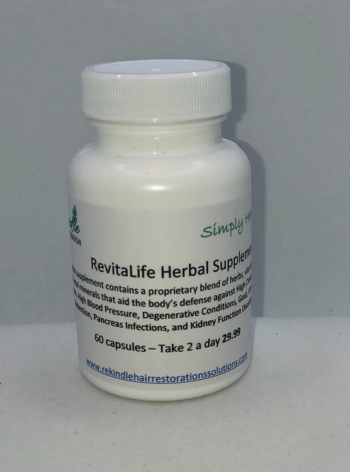Revitalife Herbal Supplements