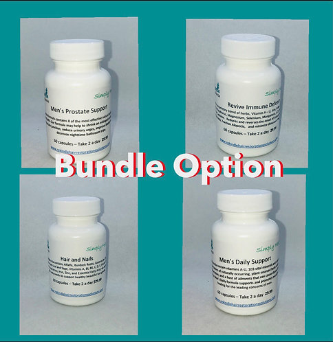 Bundle - Two Month Option/ or 4 Formulas