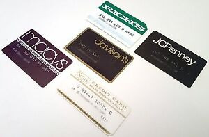 Department Store Cards