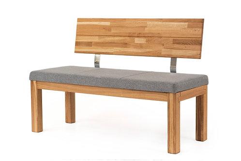 Sitzbank Anja mit Rückenlehne 150 cm