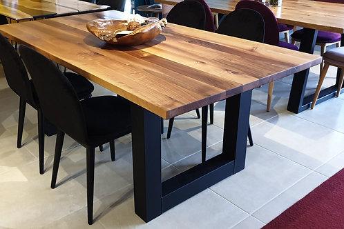 Walnut U-Star Table