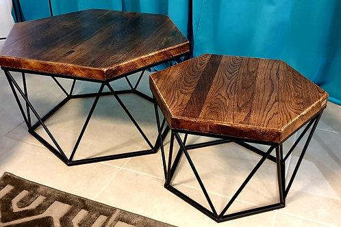 Hexagon Dark Club Table