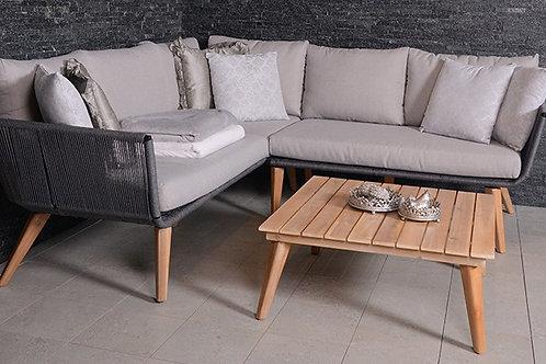 Monaco Teak Lounge Set