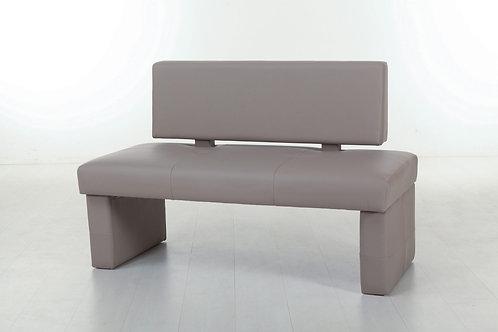 Polsterbank Ina mit Rückenlehne 130 cm