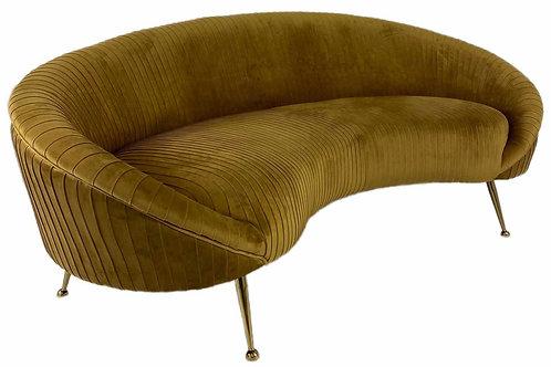 Sofa Velvet Gold