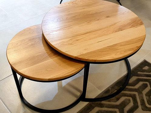 Two Oak Club Table
