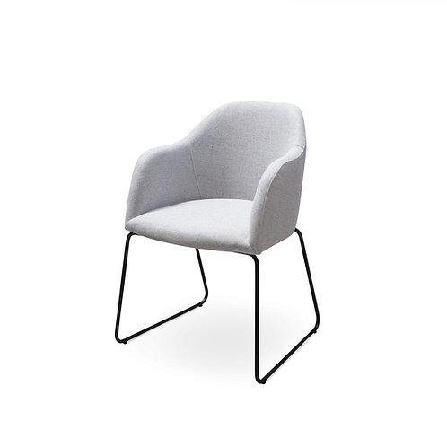 Stuhl Elba 2 Metall schwarz