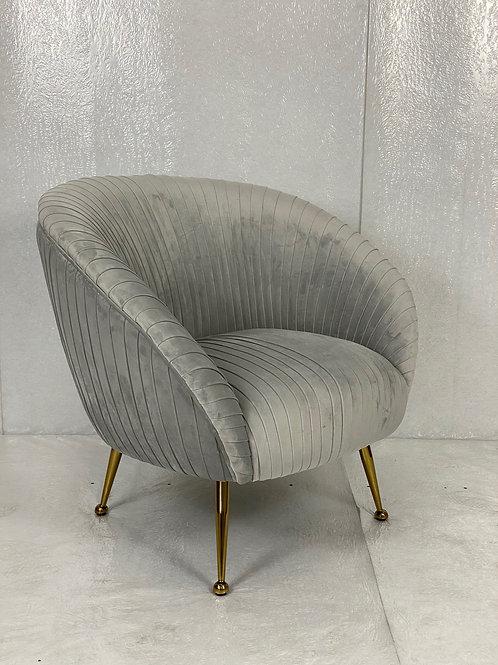 Sessel Velvet Grey