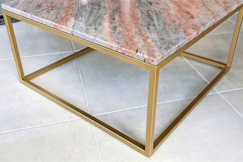 Ivory Red Club Table