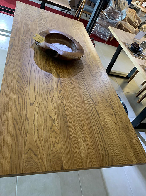 Oak X Table