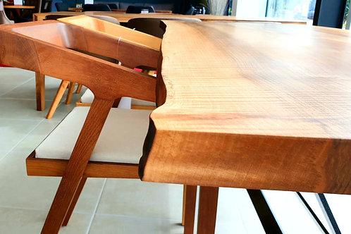 Walnut X Table