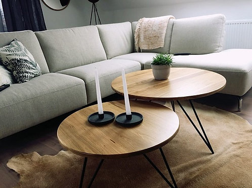 Double Oak Table