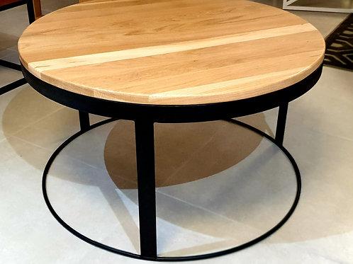 Little Round Oak Club Table