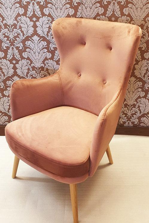 Moli Sessel dunkel rosa