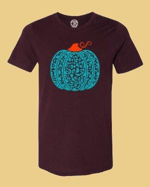Turquoise Leopard Pumpkin