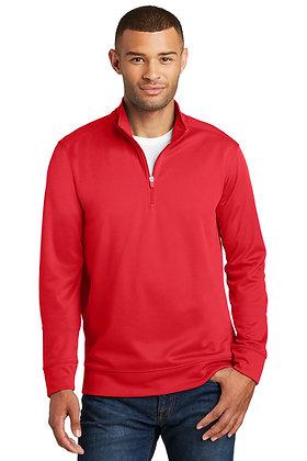 Port & Co. Performance Fleece 1/4 zip Pullover