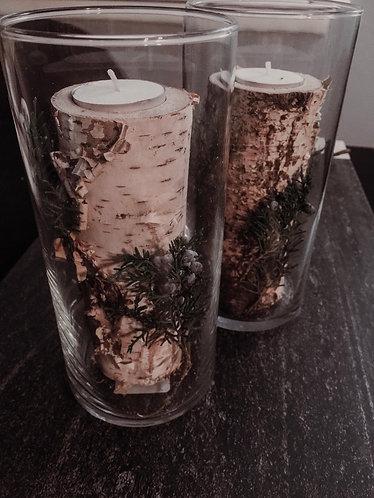 Birch Candle Set