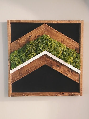 Moss+Wood Wall Art