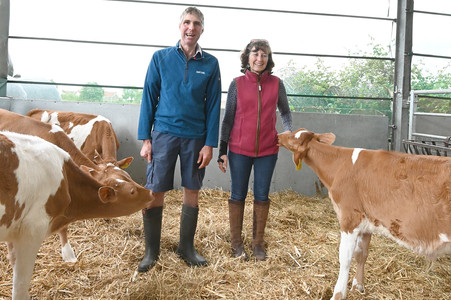 Meet David and Rosie Paull of Hurdlebrook Farm