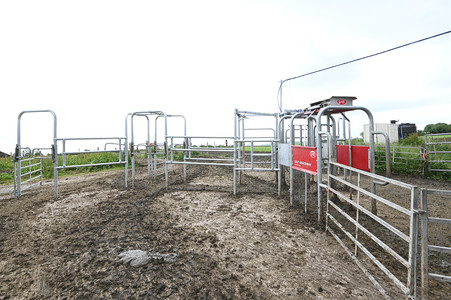The entry system to the robotic parlour