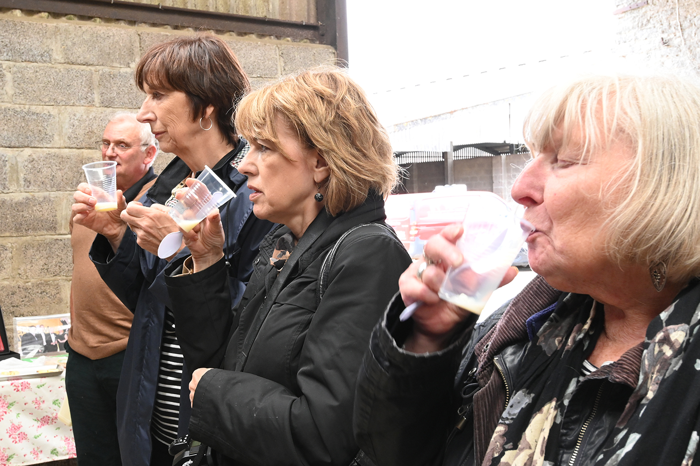 GFW Milk tasting