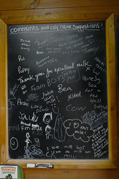 Customer feedback board