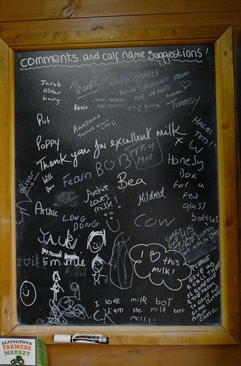 Customer feedback board