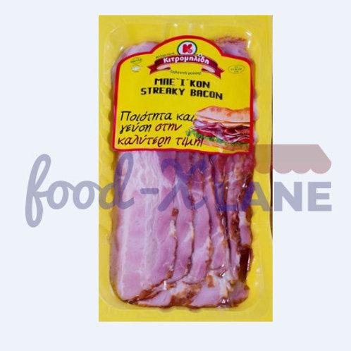 Kitromelides Streaky bacon slices 500gr