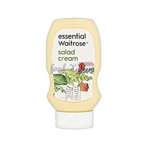 Waitrose salad cream squeezy 450gr