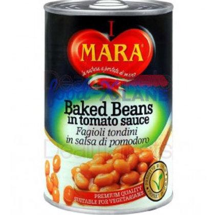 Mara Baked beans in tomato sauce 400gr