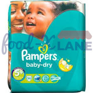 Pampers Baby Dry S5+ 35pcs