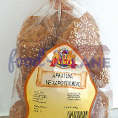 A&O Carob Honey Bagels 300g