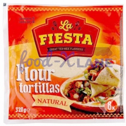 La Fiesta Flour tortillas ambient 8s-20cm 320gr