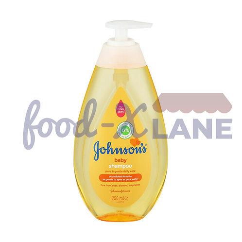J&J Baby Shampoo Gold (with pump) 750ml