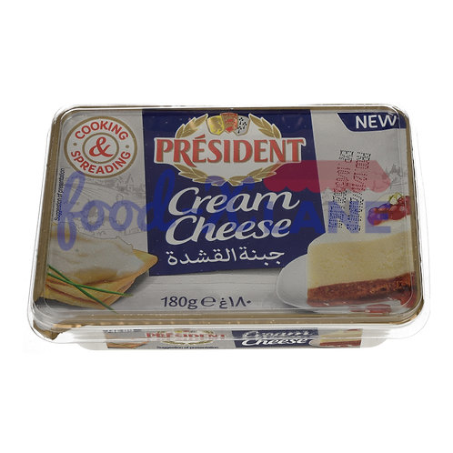 President Cream cheese 180gr