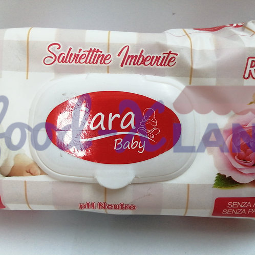 Sara Baby Wipes Rose Non Alcohol 1x100s