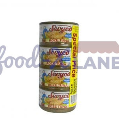 Sevyco Rose Tuna small in oil 4x95gr