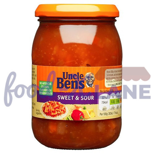 Uncle Ben Sweet & Sour sauce No added sugar 450gr